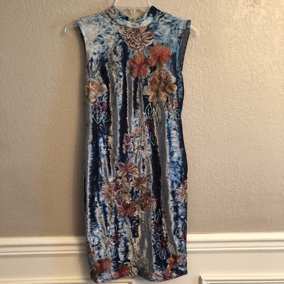ECI Dresses & Skirts - ECI Velvet Dress